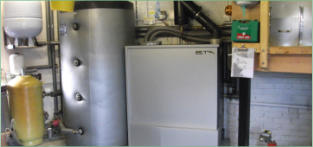 Biomass boiler installation Yorkshire